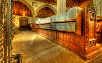 Church Library HDR